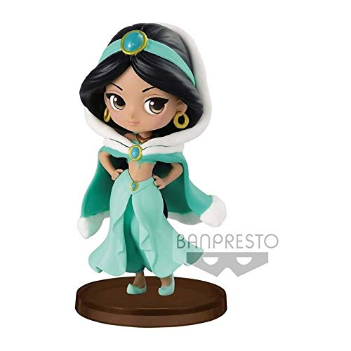 "Belle Winter Costume 7cm Figurine Q Posket /""PETIT/"" Disney"