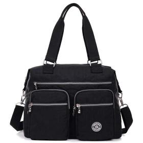 ZL4CH マザーズバッグ ナイロンマミバッグ リュックサック 片肩 斜掛け 手で提げる 大容量 旅行 多機能ファッション