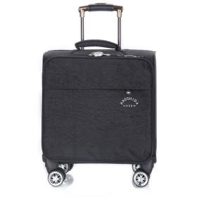 ユニセックス大容量スーツケース、新しいファッショントロリーケース、ユニバーサルホイールビジネス搭乗、軽量オックスフォード布旅行バッグ