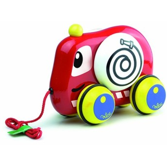 Vilac Pull Along Toy, Fire Truck by Vilac