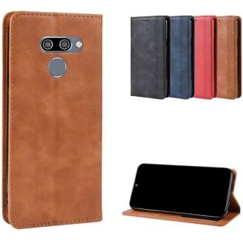 LG K50 ケース 手帳型 レザー シンプル おしゃれ 上質 高級 PUレザー スタンド機能 カード収納 LG K50 手帳型レザーケース/カバー おすすめ おしゃれ アンドロイド スマホケース