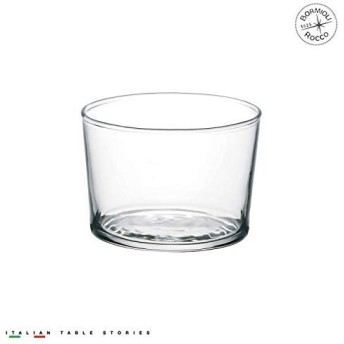 Bormioli Rocco Essential Decor Glassware – Set Of 12 Mini 7.5 Ounce Drinking Glasses For Water, Beverages,Cocktails & Candle Holders – 7.5oz Clear Tempered Glass Tumblers [並行輸入品]
