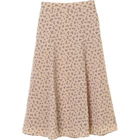 【6,000円(税込)以上のお買物で全国送料無料。】花柄ロングスカート