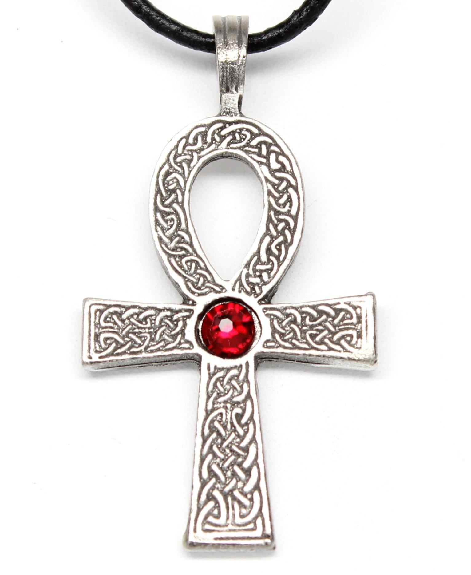 BestPysanky Aquamarine Enamel Royal Egg Pendant Necklace 20 Inches