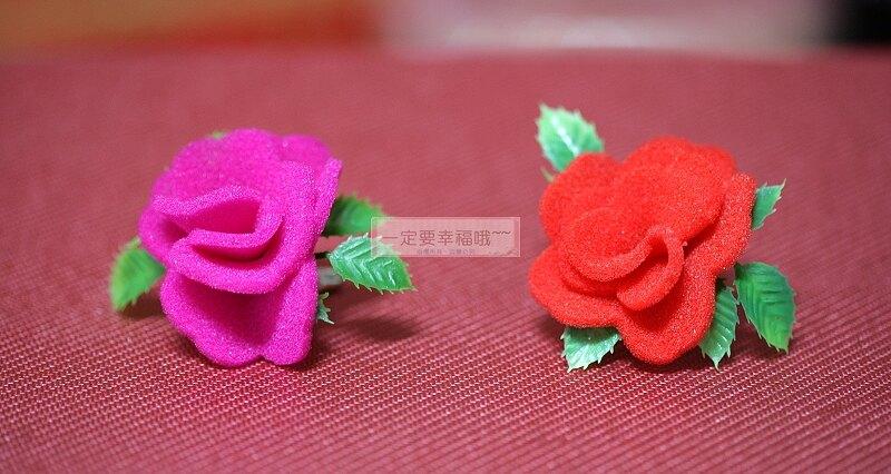 海棉胸花 、禮儀名條、人造花