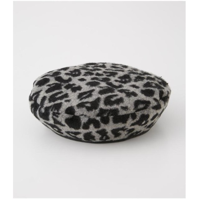 【30%OFF】 アズールバイマウジー LEOPARD REVERSIBLE BERET レディース 柄GRY5 FREE 【AZUL BY MOUSSY】 【セール開催中】