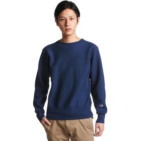 [チャンピオン] リバースウィーブ クルーネックスウェットシャツ C3-W004 メンズ ネイビー 日本 L (日本サイズL相当)