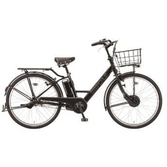 26型 電動アシスト自転車 ステップクルーズe(クロツヤケシ/内装3段変速)ST6B40【2020年モデル】