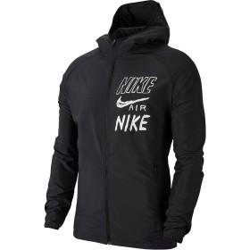 ナイキ(NIKE) エッセンシャル HBR フーディ ジャケット BQ8263 010 ブラック/ホワイト M