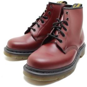 [ドクターマーチン] 101 6EYE BOOT 10064600 CHERRYRED 6ホールブーツ 定番 UK10/29cm,CHERRYRED
