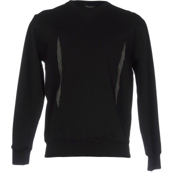 《期間限定セール開催中!》LGION D'OR メンズ スウェットシャツ ブラック S コットン 100%