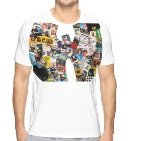 Wu Tang Clan メンズ レディース ユニセックス 半袖 Tシャツ個性派 おもしろ 速乾 無地 吸汗速乾 軽い 柔らかい 白 カジュアル 夏服 夏季対応 ファッション スポーツ ジムt 五分袖