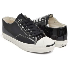 [コンバース] JACK PURCELL RET ENAMEL BLACK (1CL536) 33300110 27.0(8H) US