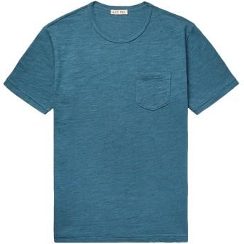 《期間限定セール開催中!》ALEX MILL メンズ T シャツ ディープジェード XL コットン 100%