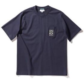 (BEAMS MEN/ビームス メン)LACOSTE × BEAMS/別注 ショートスリーブ Tシャツ/メンズ MARINE 送料無料