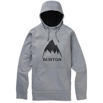 バートン(BURTON) メンズ フーディ Men's Crown Bonded Pullover Hoodie グレーヘザー 10891108020 トップス パーカー プルオーバー スノーボード スノボ