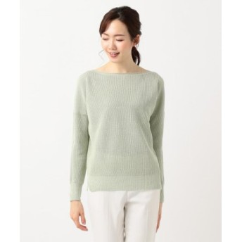 (ICB/ICB)Linen Half Cardigan ニット/レディース グリーン系 送料無料
