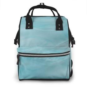 万洋 最新旅行 通勤 個性的 多機能レジャーバッグ リュック マザーズバッグ ベビー用品収納 出産準備 防水盗難防止ポケット シンプル大容量手提げ袋 かわいい -アイスダーク競技