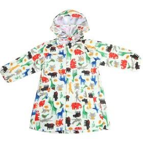 KANGSHENG レインコート キッズ レインコート ,男の子、女の子、赤ちゃん、小学生、かわいい漫画、子供、ポンチョ、大きな帽子、本の袋 (Color : Yellow, Size : M)