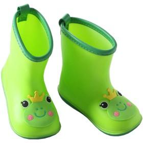 [NOLCCTN] 子供用 レインブーツ キッズ ショート レインシューズ 雨靴 こども ベビー用 レインブーツ 男の子 女の子 防水 軽量 可愛い 滑り止め 快適 梅雨対策 (13.5CM, 象)