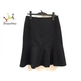 アクリス AKRIS スカート サイズ36 M レディース 美品 黒  値下げ 20191129