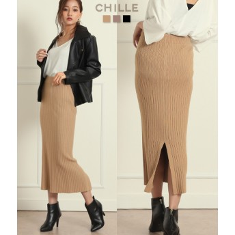 【セール開催中】ANAP(アナップ)リブニットタイトスカート