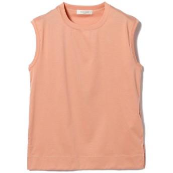 (デミルクスビームス)Demi-Luxe BEAMS/Tシャツ/スムース ノースリーブプルオーバー レディース PINK ONE SIZE