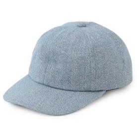 サロン アダム エ ロペ/撚り杢CAP/ブルー系/F