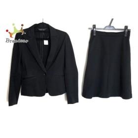 インディビ INDIVI スカートスーツ サイズ36 S レディース 黒 新着 20190911