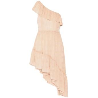 《セール開催中》LOVESHACKFANCY レディース ミニワンピース&ドレス ローズピンク 3 シルク 95% / 金属繊維 5%