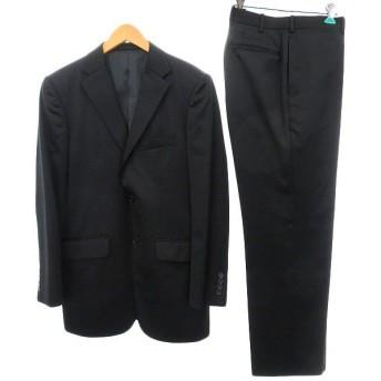 TAKEO KIKUCHI 段返り3Bスーツ ブラック サイズ:3 (明石店) 190911