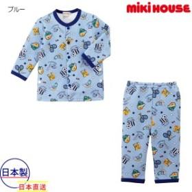 ミキハウス mikihouse ニットキルト長袖パジャマ(80cm-130cm)