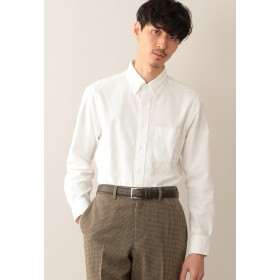 MACKINTOSH PHILOSOPHY シャンブレーフランネル ブリティッシュB.Dシャツ シャツ・ブラウス,ホワイト