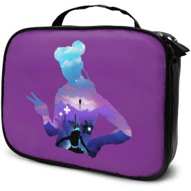 化粧品袋 化粧ポーチ 旅行化粧品バッグ メイクボックス メイクブラシバッグ 収納ケース エーペックスレジェンズ ウォッシュバッグ 化粧品バッグ 旅行用収納バッグ 化粧道具 小物入れ 持ち運び便利 大容量