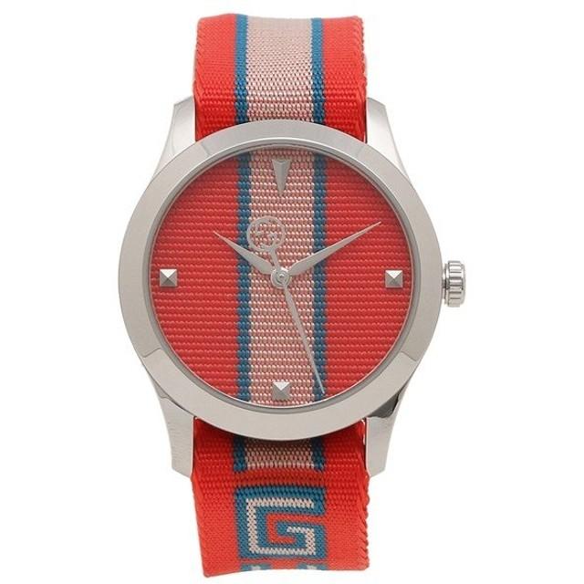 【返品OK】 グッチ 腕時計 レディース メンズ GUCCI YA1264070 レッド
