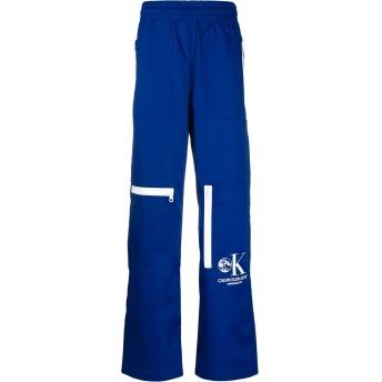 Calvin Klein Jeans Est. 1978 ロゴ トラックパンツ - ブルー