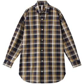 SALE 【10%OFF】 HELIOPOLE エリオポール 【Traditional Weatherwear】ビッグタックアップシャツ ブルー