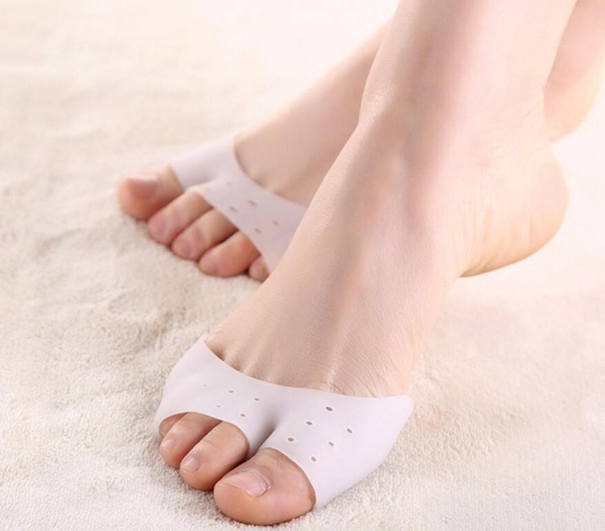 拇指外翻矽膠透氣前掌墊舒壓分趾器 (雙)