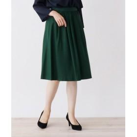 SOUP(スープ) 【WEB限定サイズ・カラーあり】9色から選べる!ウールタックフレアスカート