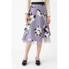 JILLSTUART / ジルスチュアート ◆《Endy ROBE》ルビーフラワースカート