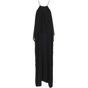 《セール開催中》RAME レディース ロングワンピース&ドレス ブラック 3 100% ポリエステル