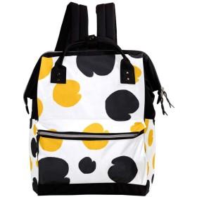 Anmumi リュックサック リュック 学生 レディース 水玉柄 メンズ 大容量 マザーズバッグ がま口 バックパック 通勤通学 デイバッグ かわいい おしゃれ