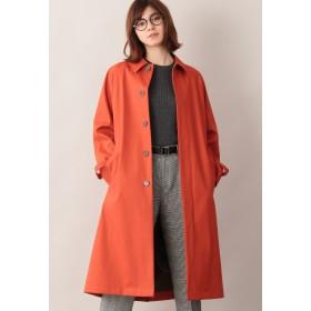 MACKINTOSH PHILOSOPHY コットンボンディングステンカラーコート ステンカラーコート,オレンジ