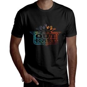 アウトキャスト Outkast高品質 Tシャツ メンズ 半袖 夏 カジュアル トップス 無地 ゆったり おしゃれ おおきいサイズ 個性 丸首