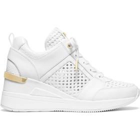 [MICHAEL KORS] [マイケルコース] レディース スニーカー Georgie Faux Leather Wedge Sneakers [並行輸入品]