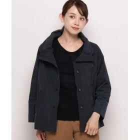 スマートピンク ツイルフードジャケット レディース ネイビー(093) 42(L/ミセス) 【smart pink】
