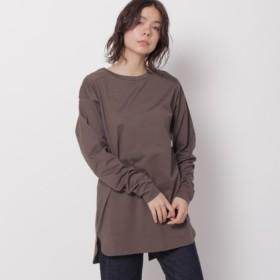 [マルイ] オーガニックシンプルロングTシャツ/オゾック(OZOC)