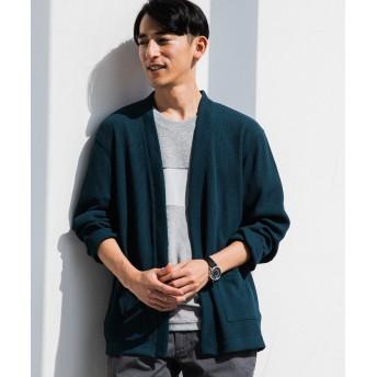 グリーンレーベルリラクシング SC DRY MIX ワッフル イージーCGN メンズ DKGREEN S 【green label relaxing】