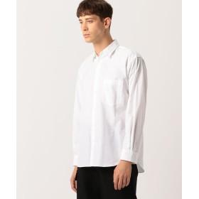 トゥモローランド Edition フィンクスコットンウェザークロス レギュラーカラーシャツ メンズ 11ホワイト L 【TOMORROWLAND】