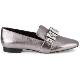 [カールラガーフェルド] レディース サンダル Nyra Embellished Leather Flats [並行輸入品]